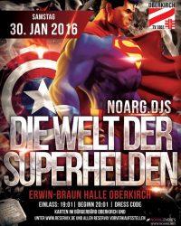 Turnerfasent 2016 – Die Welt der Superhelden