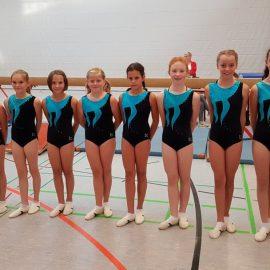 Leistungsturnerinnen des TVO souverän in die Gauliga-Runde 2018 gestartet